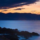 Χρωματισμένη θάλασσα Στοκ φωτογραφία με δικαίωμα ελεύθερης χρήσης