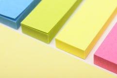 χρωματισμένη θέση εγγράφου στοκ φωτογραφίες