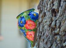 Χρωματισμένη κανάτα Στοκ Φωτογραφία