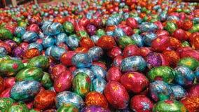 Χρωματισμένη καραμέλα αυγών Πάσχας Στοκ Εικόνα
