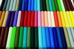 Χρωματισμένη κιμωλία στοκ εικόνες