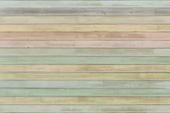 Χρωματισμένη κρητιδογραφία ξύλινη υπόβαθρο ή σύσταση σανίδων στοκ εικόνες