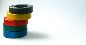 χρωματισμένη κόλλα ταινία Στοκ εικόνα με δικαίωμα ελεύθερης χρήσης
