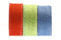 χρωματισμένη λουρίδα Στοκ Εικόνες