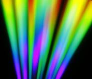Χρωματισμένη μορφή λωρίδων Στοκ φωτογραφία με δικαίωμα ελεύθερης χρήσης