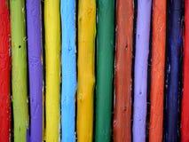Χρωματισμένη ξυλεία στοκ εικόνες με δικαίωμα ελεύθερης χρήσης
