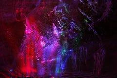 χρωματισμένη παγωμένη επιφάν Στοκ εικόνες με δικαίωμα ελεύθερης χρήσης