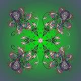 Χρωματισμένη περίληψη εικόνα διανυσματική απεικόνιση