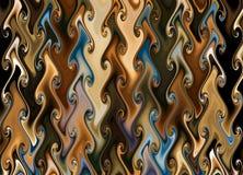 χρωματισμένη περίληψη σύστ&alph Στοκ Εικόνες