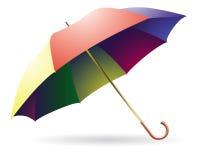 χρωματισμένη πολυ ανοιγμέ Στοκ εικόνα με δικαίωμα ελεύθερης χρήσης