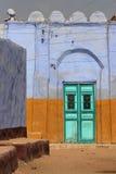 χρωματισμένη πόρτα Στοκ Εικόνες