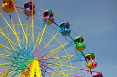 Χρωματισμένη ρόδα Ferris Στοκ εικόνες με δικαίωμα ελεύθερης χρήσης