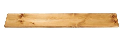 Χρωματισμένη σανίδα πινάκων ξύλου πεύκων που απομονώνεται στοκ φωτογραφία με δικαίωμα ελεύθερης χρήσης
