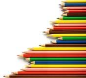 χρωματισμένη σειρά μολυβ&iot Στοκ Εικόνες