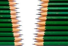 χρωματισμένη σειρά μολυβ&iot Στοκ φωτογραφία με δικαίωμα ελεύθερης χρήσης