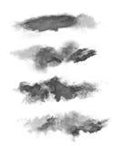 Χρωματισμένη σκόνη Στοκ Εικόνες