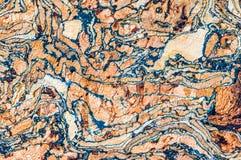 Χρωματισμένη σύσταση φελλού Στοκ φωτογραφίες με δικαίωμα ελεύθερης χρήσης