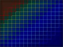 Χρωματισμένη ταπετσαρία Στοκ Εικόνες