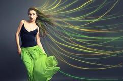 Χρωματισμένη τρίχα στοκ εικόνες με δικαίωμα ελεύθερης χρήσης