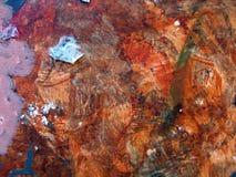 χρωματισμένη χέρι σύσταση Στοκ Φωτογραφία