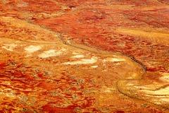 Χρωματισμένοι κολπίσκος λόφοι της Anna, Νότια Αυστραλία, Αυστραλία στοκ φωτογραφίες