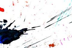 χρωματισμένοι πολυ παφλασμοί Στοκ εικόνα με δικαίωμα ελεύθερης χρήσης