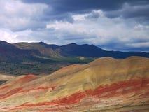 Χρωματισμένοι λόφοι Στοκ Εικόνες