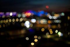 Χρωματισμένος γύρω από το έντονο φως από τα φω'τα Στοκ Εικόνες
