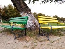 Χρωματισμένος καναπές Στοκ εικόνα με δικαίωμα ελεύθερης χρήσης