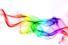 χρωματισμένος καπνός Στοκ Φωτογραφία