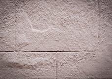 χρωματισμένος κεραμωμένος τοίχος με το σύντομο χρονογράφημα, εξωτερικό οικοδόμησης σύσταση στοκ φωτογραφίες
