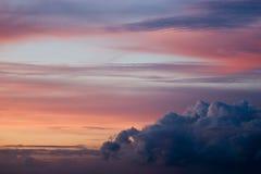 χρωματισμένος ουρανός Στοκ Εικόνες