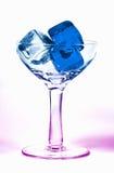 χρωματισμένος πάγος Στοκ φωτογραφίες με δικαίωμα ελεύθερης χρήσης