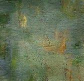 Χρωματισμένος πετρέλαιο καμβάς Στοκ φωτογραφία με δικαίωμα ελεύθερης χρήσης