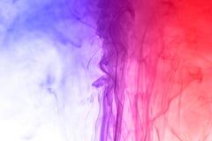 Χρωματισμένος πολυ χρωματισμένος καπνός Στοκ φωτογραφίες με δικαίωμα ελεύθερης χρήσης