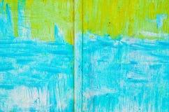 Χρωματισμένος στον τοίχο χάλυβα δύο χρωμάτων Στοκ φωτογραφία με δικαίωμα ελεύθερης χρήσης