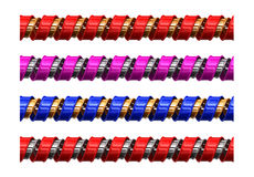 χρωματισμένος στρόβιλος Στοκ Φωτογραφίες