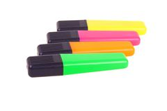 χρωματισμένος τέσσερις δ& Στοκ εικόνα με δικαίωμα ελεύθερης χρήσης