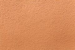 Χρωματισμένος τερακότα τοίχος στόκων Στοκ φωτογραφίες με δικαίωμα ελεύθερης χρήσης