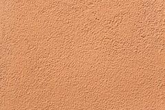 Χρωματισμένος τερακότα τοίχος στόκων Στοκ Εικόνα