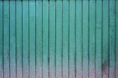 Χρωματισμένος τοίχος ξυλείας Στοκ Εικόνα