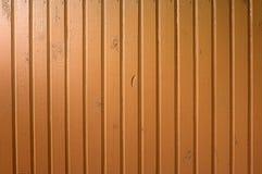 Χρωματισμένος τοίχος ξυλείας Στοκ Φωτογραφία