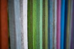 Χρωματισμένος φράκτης, αστείος χρωματισμένος φράκτης Στοκ Εικόνες