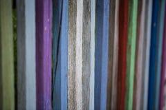 Χρωματισμένος φράκτης, αστείος χρωματισμένος φράκτης Στοκ Εικόνα