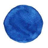 Χρωματισμένος χέρι κύκλος Watercolor Όμορφα στοιχεία σχεδίου πρόσκληση συγχαρητηρίων καρτών ανασκόπησης Στοκ εικόνες με δικαίωμα ελεύθερης χρήσης