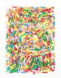 χρωματισμένος ψεκάζει Στοκ Εικόνα