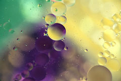 Χρωματισμένος bubles Στοκ φωτογραφία με δικαίωμα ελεύθερης χρήσης
