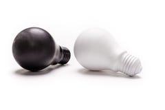 Χρωματισμένος lightbulb Στοκ εικόνα με δικαίωμα ελεύθερης χρήσης