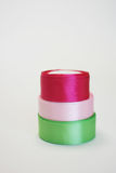Χρωματισμένος rribons Στοκ εικόνες με δικαίωμα ελεύθερης χρήσης