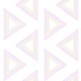 Χρωματισμένο άνευ ραφής υπόβαθρο τριγώνων Στοκ Φωτογραφίες